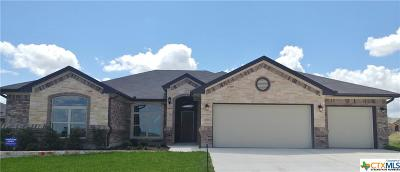 Killeen TX Single Family Home For Sale: $276,000