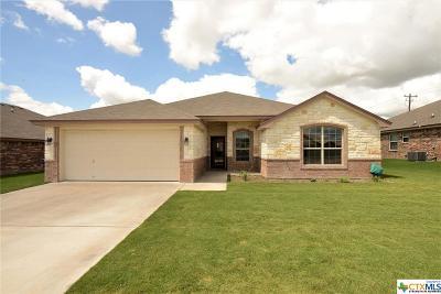 Copperas Cove Single Family Home For Sale: 3406 Dalton Street