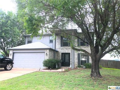 Harker Heights Single Family Home For Sale: 419 Tomahawk Drive