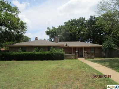 Gatesville TX Single Family Home For Sale: $136,000