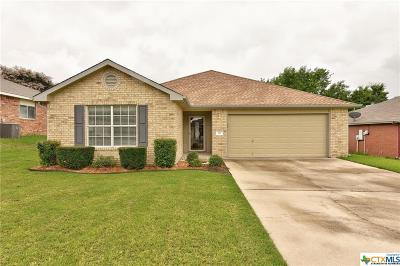Harker Heights TX Single Family Home For Sale: $165,000
