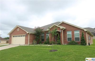 Copperas Cove Single Family Home For Sale: 1517 Indian Camp Trail