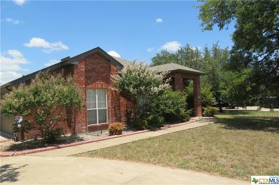 Nolanville Single Family Home For Sale: 124 Wyatt Earp Loop