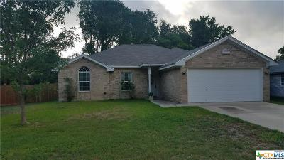 Temple TX Single Family Home Pending: $137,999