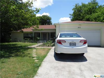 Killeen Single Family Home For Sale: 1802 Fairview