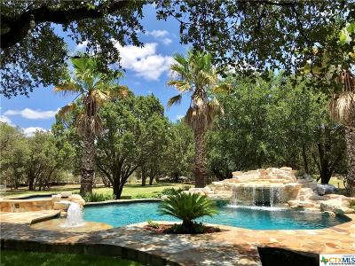 New Braunfels Single Family Home For Sale: 1830 Hunters Run