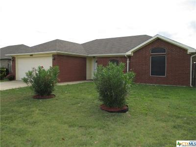 Killeen Single Family Home For Sale: 4403 Pete Drive