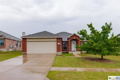 Killeen Single Family Home For Sale: 6304 Taree Loop