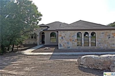 Belton Single Family Home For Sale: 109 Fort Donelson