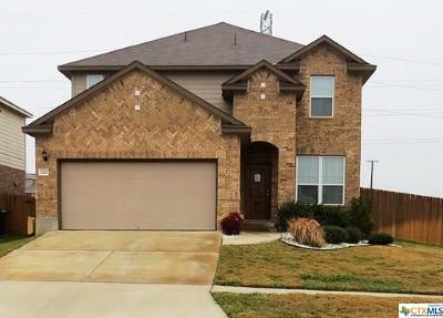 Killeen Single Family Home For Sale: 3417 Rusack