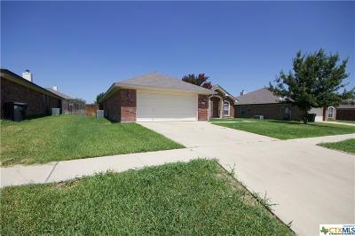 Killeen Single Family Home For Sale: 2509 Bachelor Button Boulevard