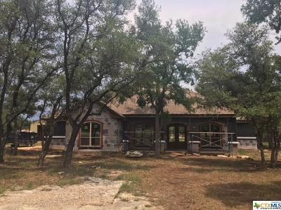Salado Single Family Home For Sale: 1561 Long Meadow Drive
