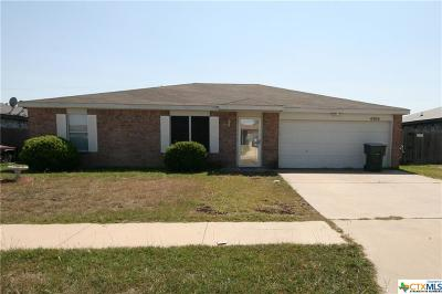 Killeen Single Family Home For Sale: 4304 Stallion Drive