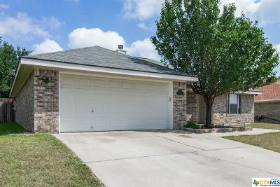 Killeen Single Family Home For Sale: 3909 Crosscut Loop