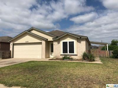 Killeen Single Family Home For Sale: 3005 Viewcrest