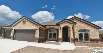 Killeen Single Family Home For Sale: 5005 Fresco