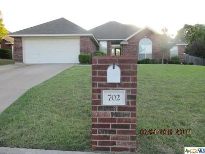 Single Family Home For Sale: 702 Paintbrush Drive