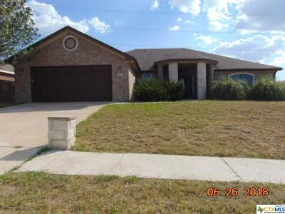 Killeen TX Single Family Home For Sale: $141,900