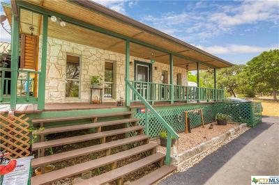 Canyon Lake Single Family Home For Sale: 3085 Lakeshore Drive