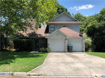 San Marcos TX Single Family Home For Sale: $195,000