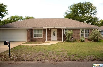 Belton Single Family Home For Sale: 81 Buttercup