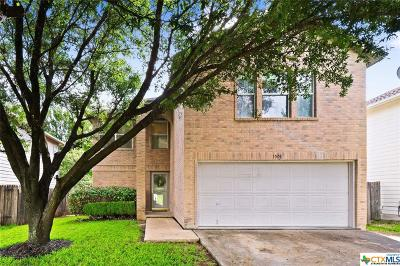 Round Rock Single Family Home For Sale: 1501 Balsam