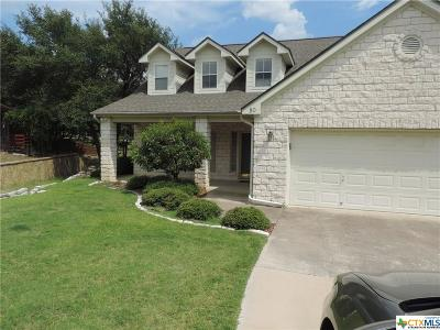 Belton Single Family Home For Sale: 80 S Cliffwood Circle