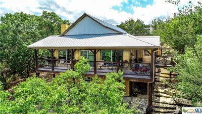 Canyon Lake Single Family Home For Sale: 1450 Spring Mountain