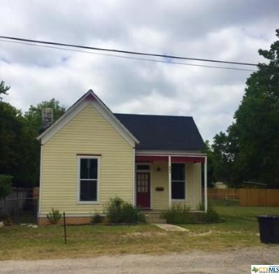 Lampasas Single Family Home For Sale: 804 E 3rd