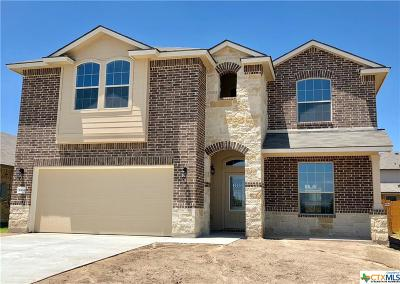 Harker Heights, Killeen, Temple Single Family Home For Sale: 6304 Tess Road
