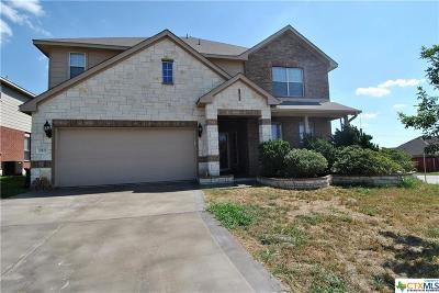 Harker Heights Single Family Home For Sale: 818 Red Fern Drive