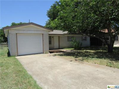 Copperas Cove Single Family Home For Sale: 2723 Live Oak