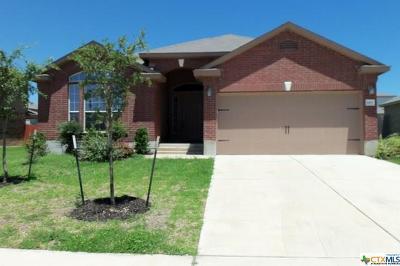 Killeen Single Family Home For Sale: 6107 Charlotte