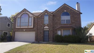 Killeen Single Family Home For Sale: 5007 White Rock Drive