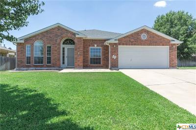 Harker Heights Single Family Home For Sale: 412 Reservation Drive