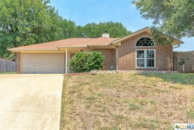 Copperas Cove Single Family Home For Sale: 2004 Mattie Drive
