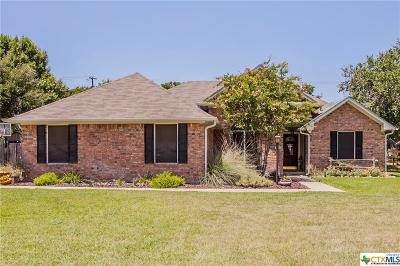 Salado Single Family Home For Sale: 1212 Chisholm Trail
