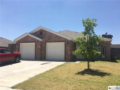Killeen Single Family Home For Sale: 3807 John Chisholm