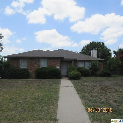 Harker Heights Single Family Home For Sale: 2202 Delaware