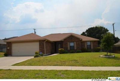 Killeen Single Family Home For Sale: 5611 Boxelder Trail