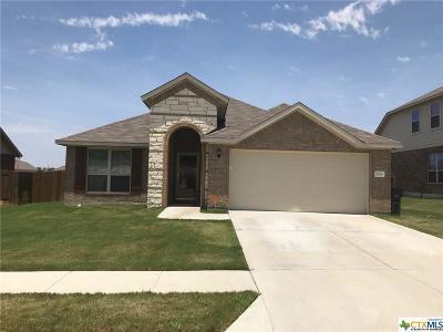 Killeen Single Family Home For Sale: 2505 John Helen Drive