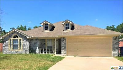 Copperas Cove Single Family Home For Sale: 2210 Indian Camp Trail