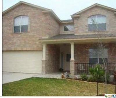 Killeen Single Family Home For Sale: 4907 Rose Quartz