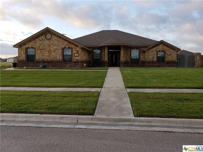 Killeen Single Family Home For Sale: 2300 Sparrow