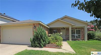 Harker Heights Single Family Home For Sale: 2041 Rain Dance