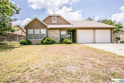 Killeen Single Family Home For Sale: 3003 Westrim Drive