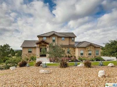 New Braunfels Single Family Home For Sale: 5821 Copper Valley
