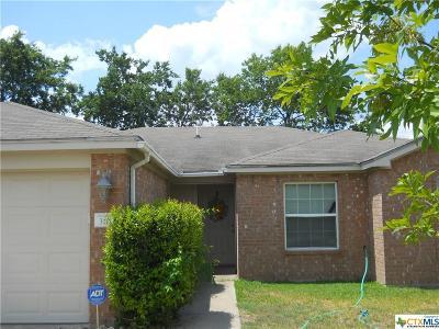 Temple Single Family Home For Sale: 3103 Burlington