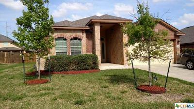 Killeen Single Family Home For Sale: 7008 Osbaldo