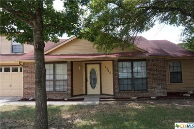 Killeen Single Family Home For Sale: 2408 Fieldstone